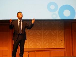 Yamada, speaking at Gartner 2015
