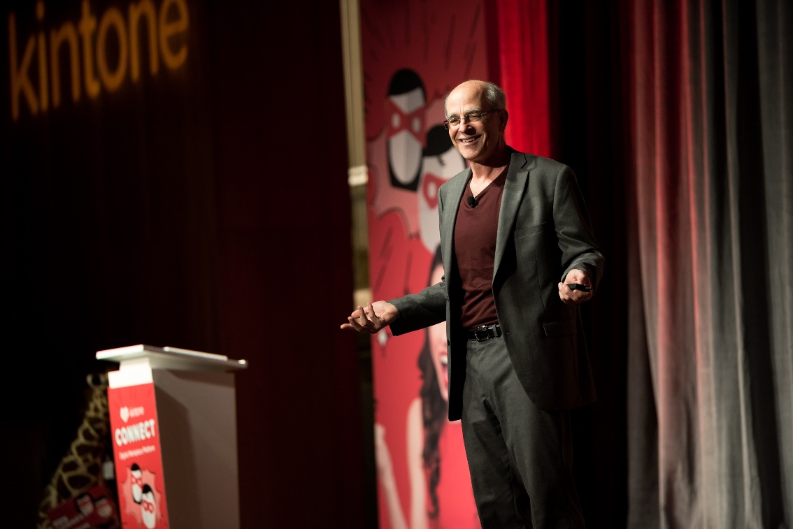 Chuck Blakeman at Kintone Connect 2017