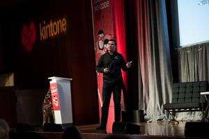 Dave Landa at Kintone Connect 2017