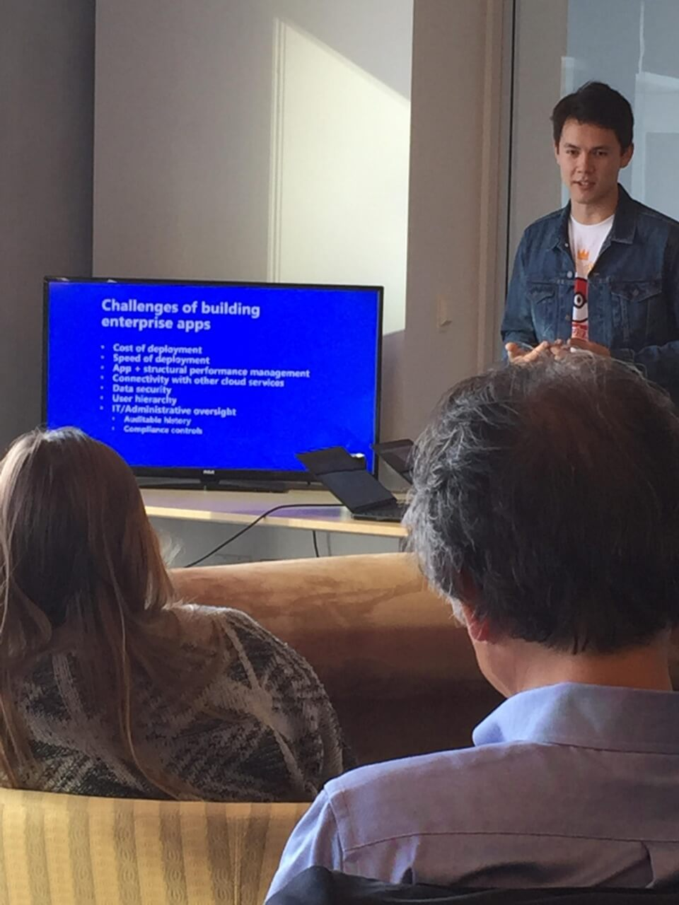 kintone developers network meetup build business apps travis