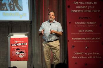 Jason Bloomberg at Kintone Connect 2017