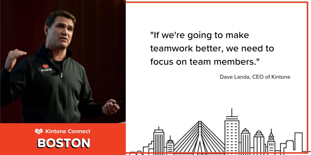 Kintone Connect Boston Teamwork and Social Impact Quote-1