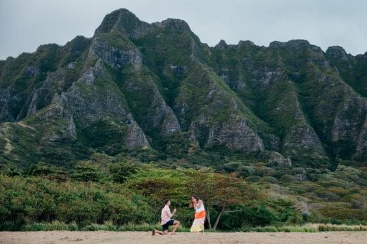 Kyle proposes hawaii