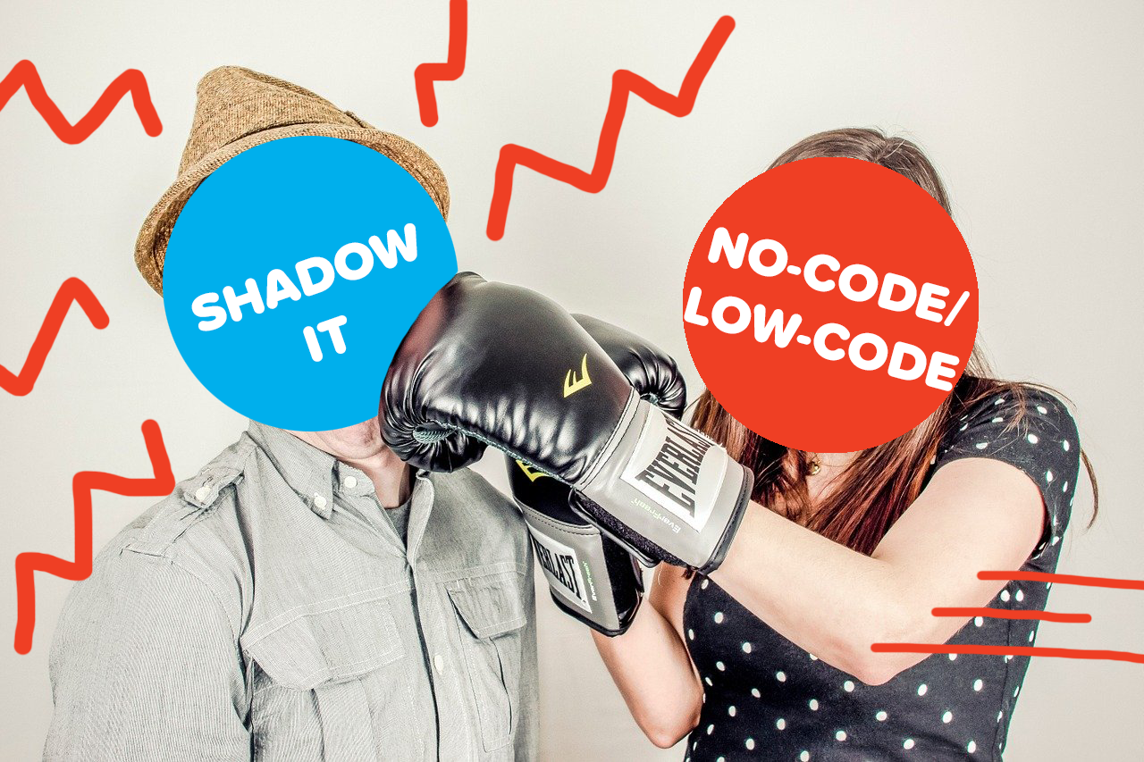 Tackling the Challenges of Shadow IT with No-Code/Low-Code Solutions feature img